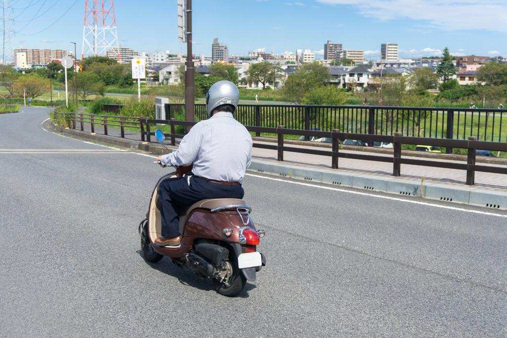 バイクの減価償却